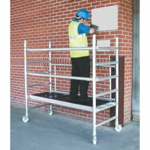 Lyte Lift Folding Work Tower System, Aluminium