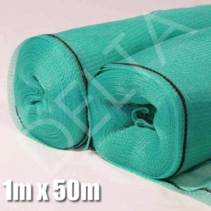 Green Shade Netting 1m x 50m, 40%