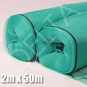 Green Shade Netting 2m x 50m, 40%