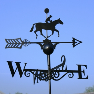 Winning Post Weather Vane, Poppy Forge-Copy