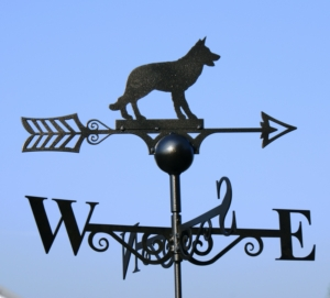 Alsatian/Dog Weather Vane, Poppy Forge-Copy