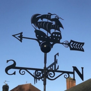 Galleon Weathervane, Poppy Forge