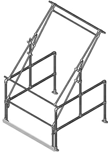Type C Tall Model Pallet Gate (Galvanised)