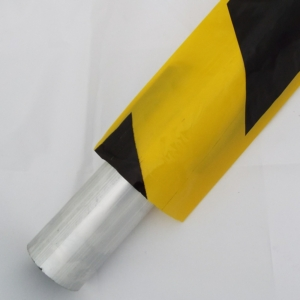 Safety Sleeve - Scaffolding Tube - 250m - Black & Yellow