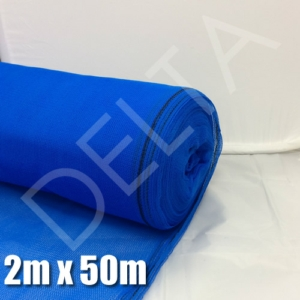 Debris Netting - 2m x 50m - Blue.