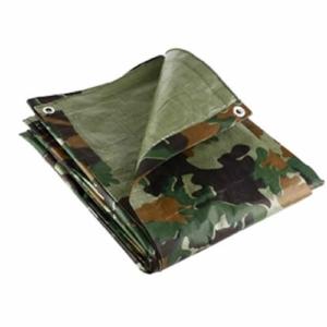 Camouflage Tarpaulin, 4.5m x 6m, Lightweight 80GSM