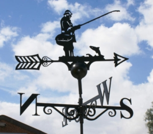 Fisherman Weather Vane, Poppy Forge