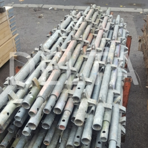 Used Galvanised Kwikstage - 6ft 6 inch Standard (vertical)