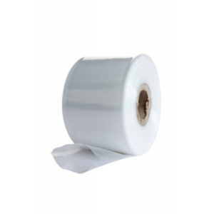 "Clear Polythene Sheeting Tube - 12"" wide x 168m - 500 Gauge"