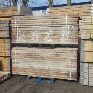 Used 8ft Kwikstage Painted Steel Batten, Steelstage