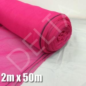 Debris Netting - 2M x 50M - Pink