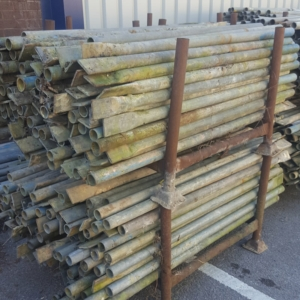 5ft Putlog End Tube - Used Galvanised