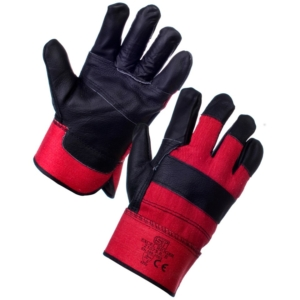 Excel Rigger Glove - Red & Black - 12 Pack, Large