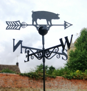 Pig Weathervane, Poppy Forge