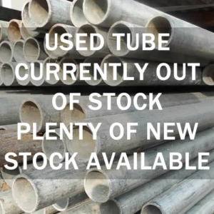 6ft Used Steel Scaffolding Tube 4mm x 48.3mm o/d