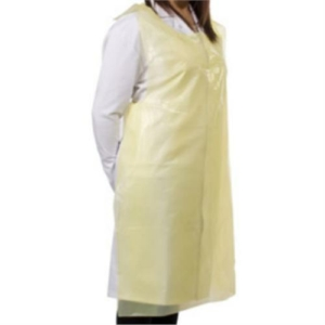 1000x Yellow Disposable Aprons 20 Micron-Copy-Copy-Copy
